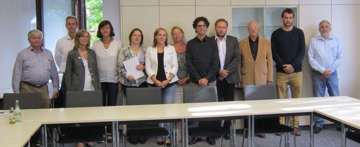 Die Gründungsmitglieder des Vereins bei der konstituierenden Versammlung am 03.09.2015